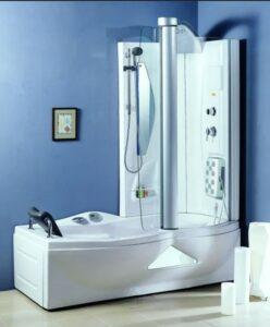 душевая кабина совмещенная с ванной