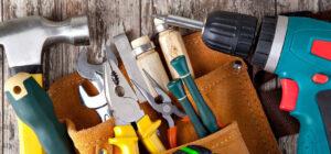 инструменты для сборки душевой кабины